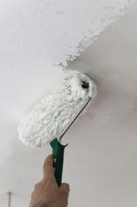 Professionelle Maler und Lackierer leisten beim Wände streichen saubere Arbeit.